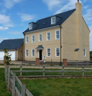 Newly build house in Cambridgeshire