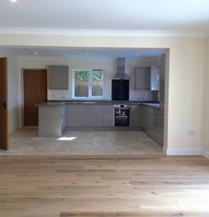Kitchen installed to a house in Cambridgeshire