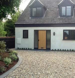 Building Contractor front door
