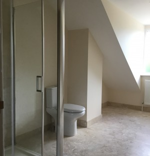 Newly installed bathroom in Cambridgeshire