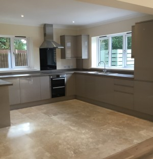 Newly installed kitchen in Cambridge