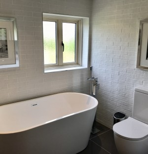 Completed Bathroom Conversion